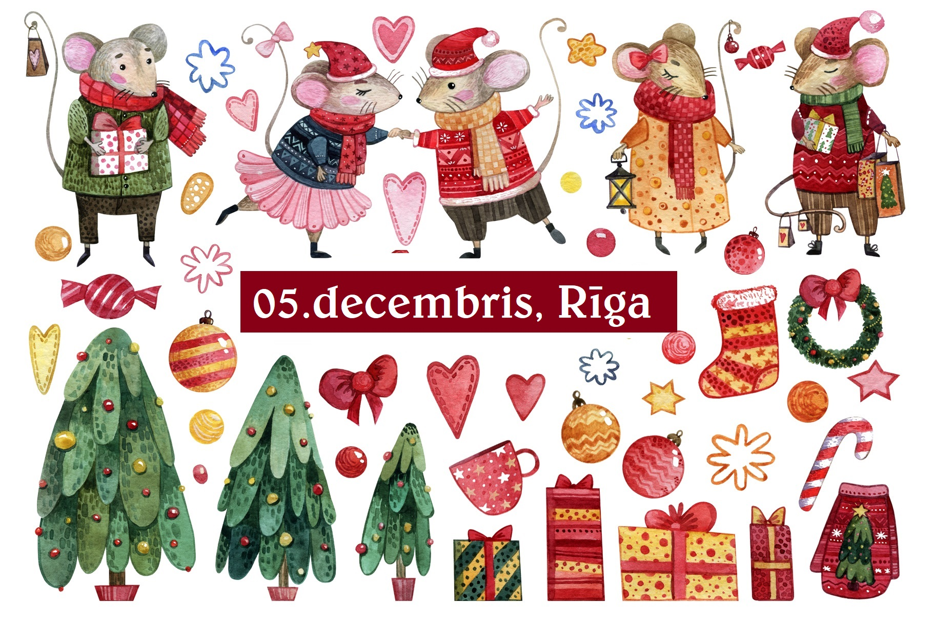 GREAT WINTER fair in Riga